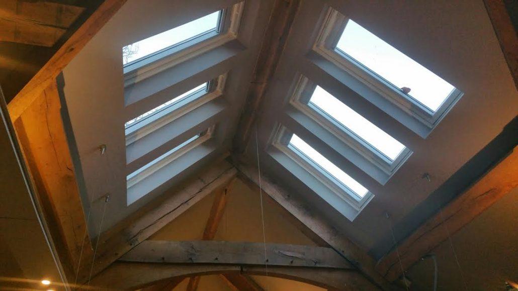 Six Velux Integra Windows To Barn Conversion In Codsall